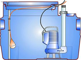 马桶坑内水位调节