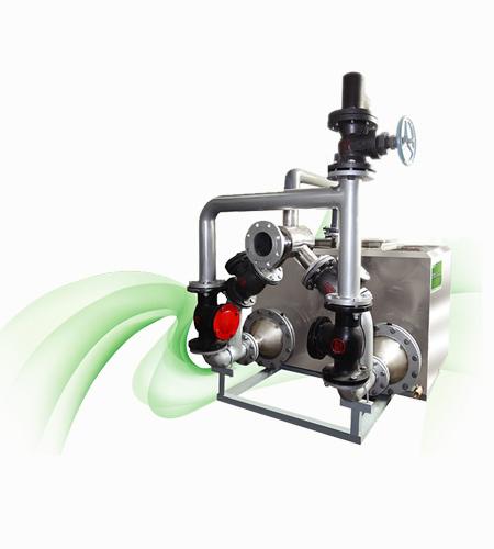 内置式污水提升器真空浆料吸粉泵特点及原理